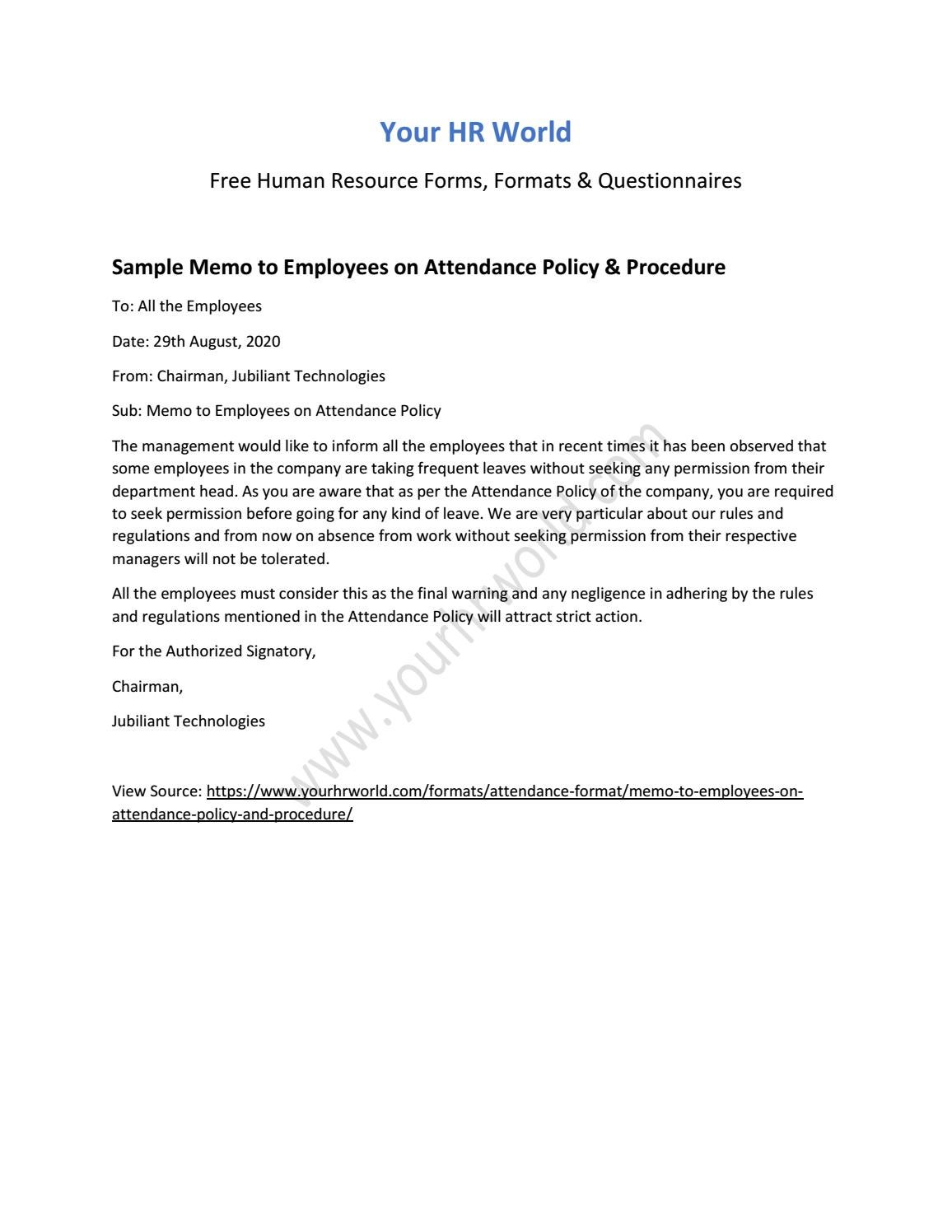 How to write a staff memo sample of resume for manufacturing job