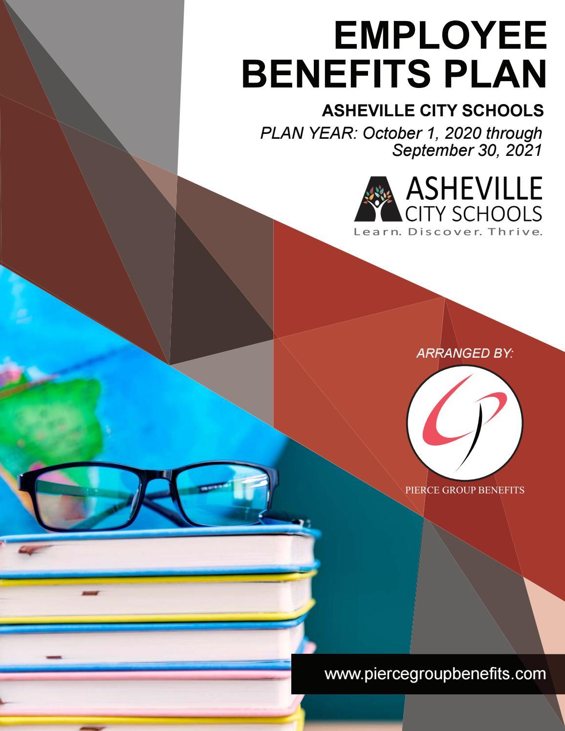 asheville city schools benefits booklet 2020 by Pierce Group