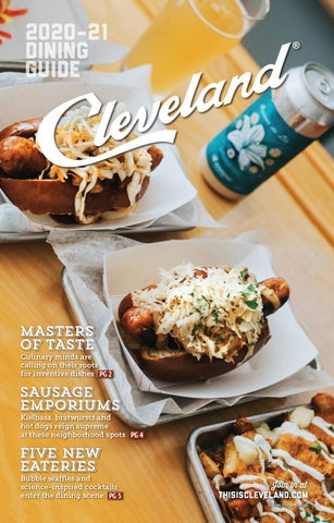 Cleveland 2020 Dining Guide By Destination Cleveland Issuu