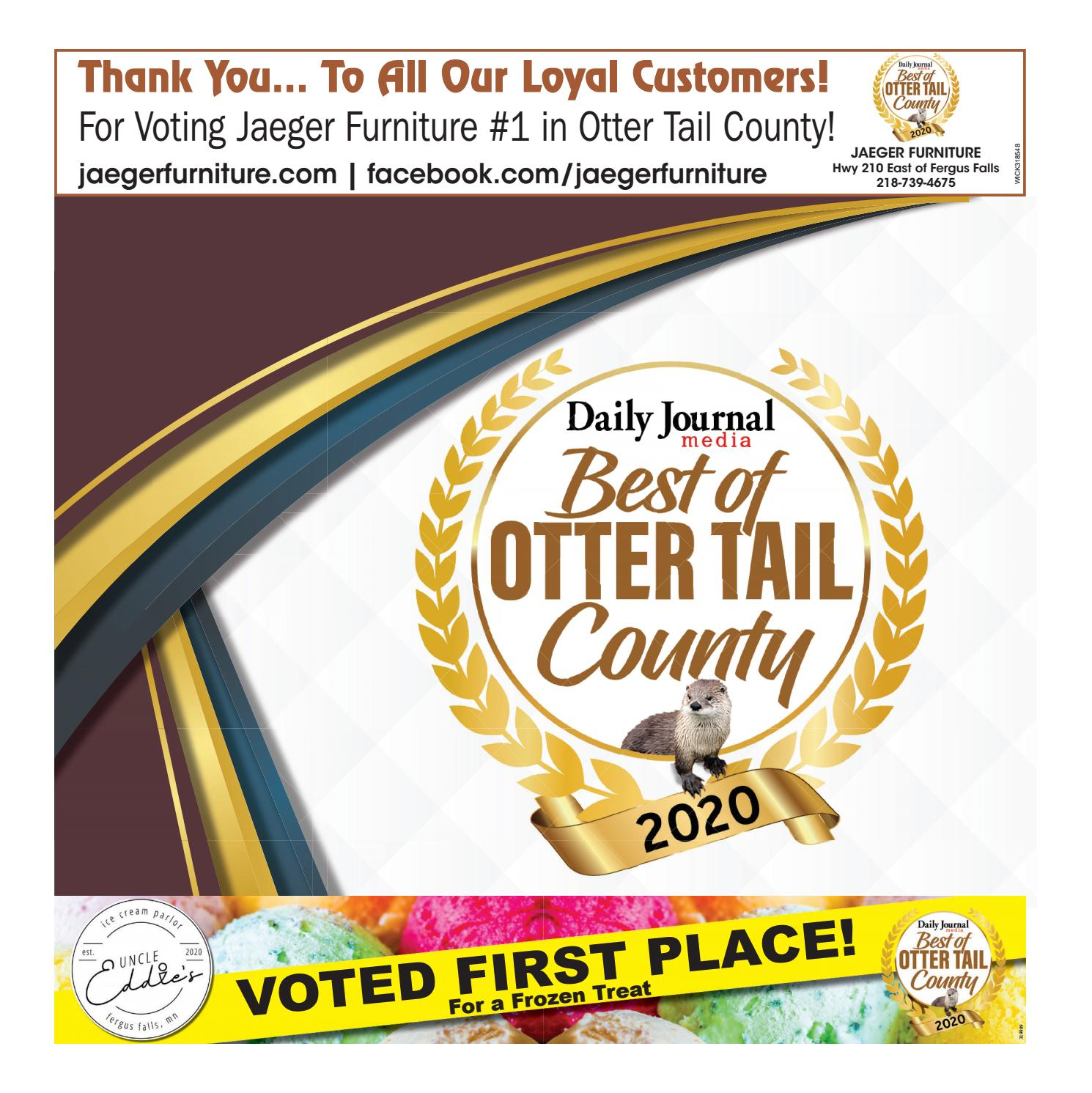best of otter tail county 2020 by daily journal issuu best of otter tail county 2020 by daily