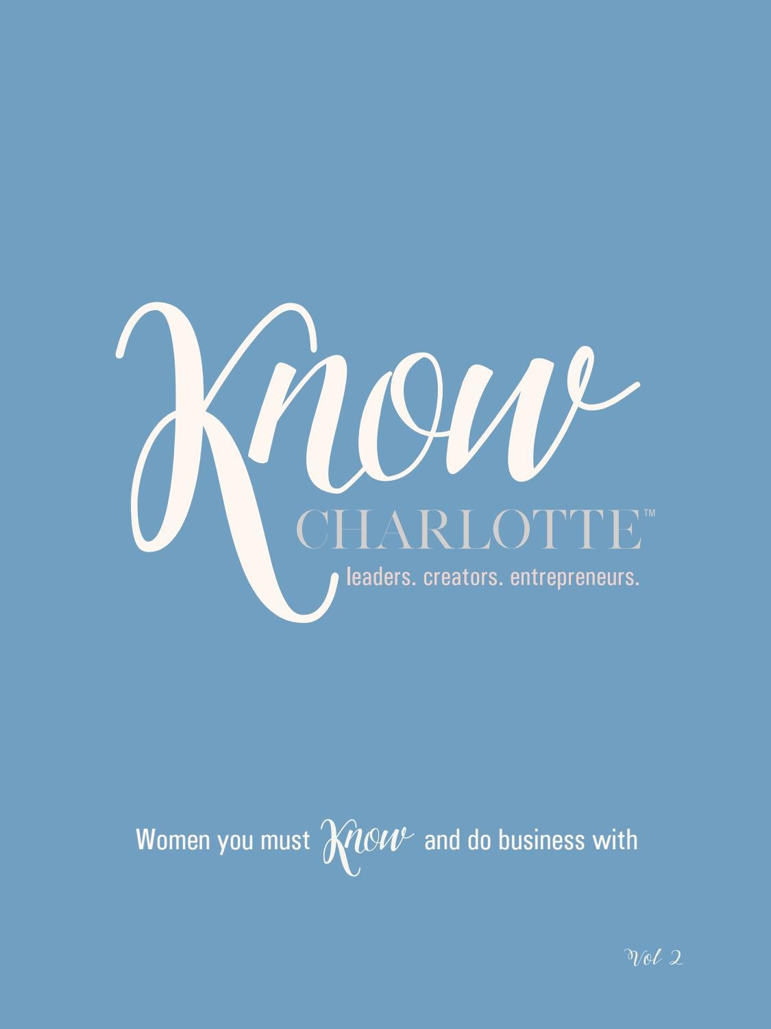 Know Charlotte Book Tribe Volume 2 By Know Publications Issuu