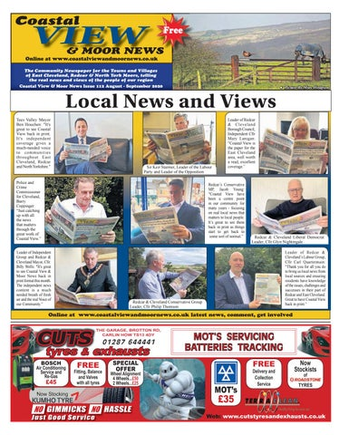 Latest Issue Coastal View Moor News
