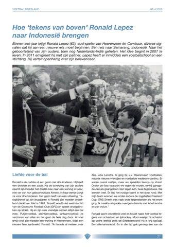 Interview Ronald Lepez By Info Vandekken Design Issuu