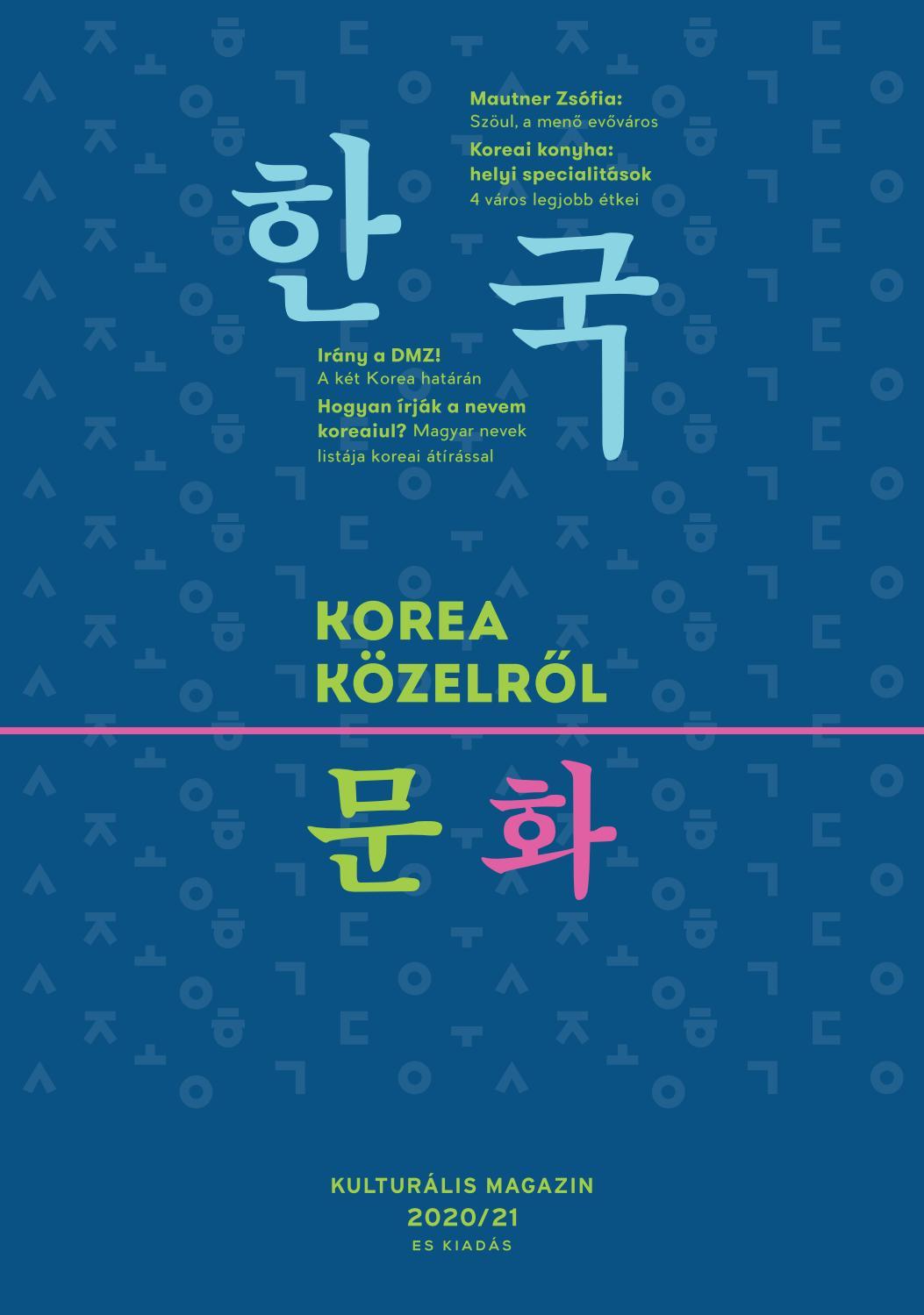 ismerkedés az oldalon korea)