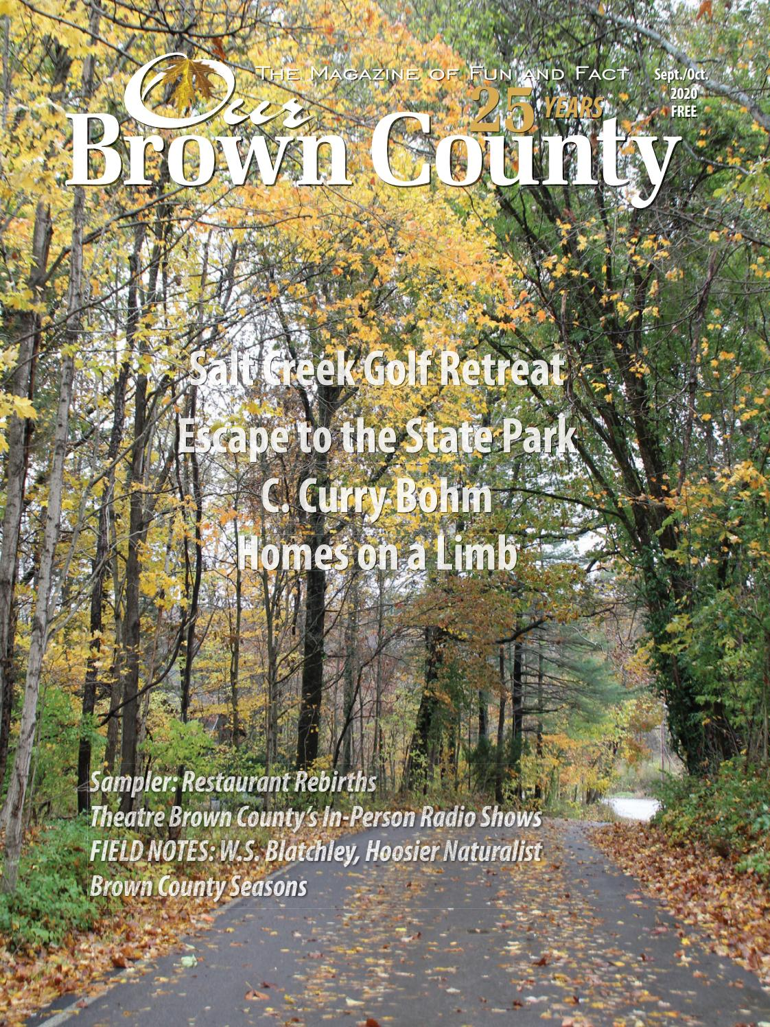 Edinburgh Pioneer Village Halloween 2020 Sept./Oct. 2020 OUR BROWN COUNTY by Our Brown County   issuu