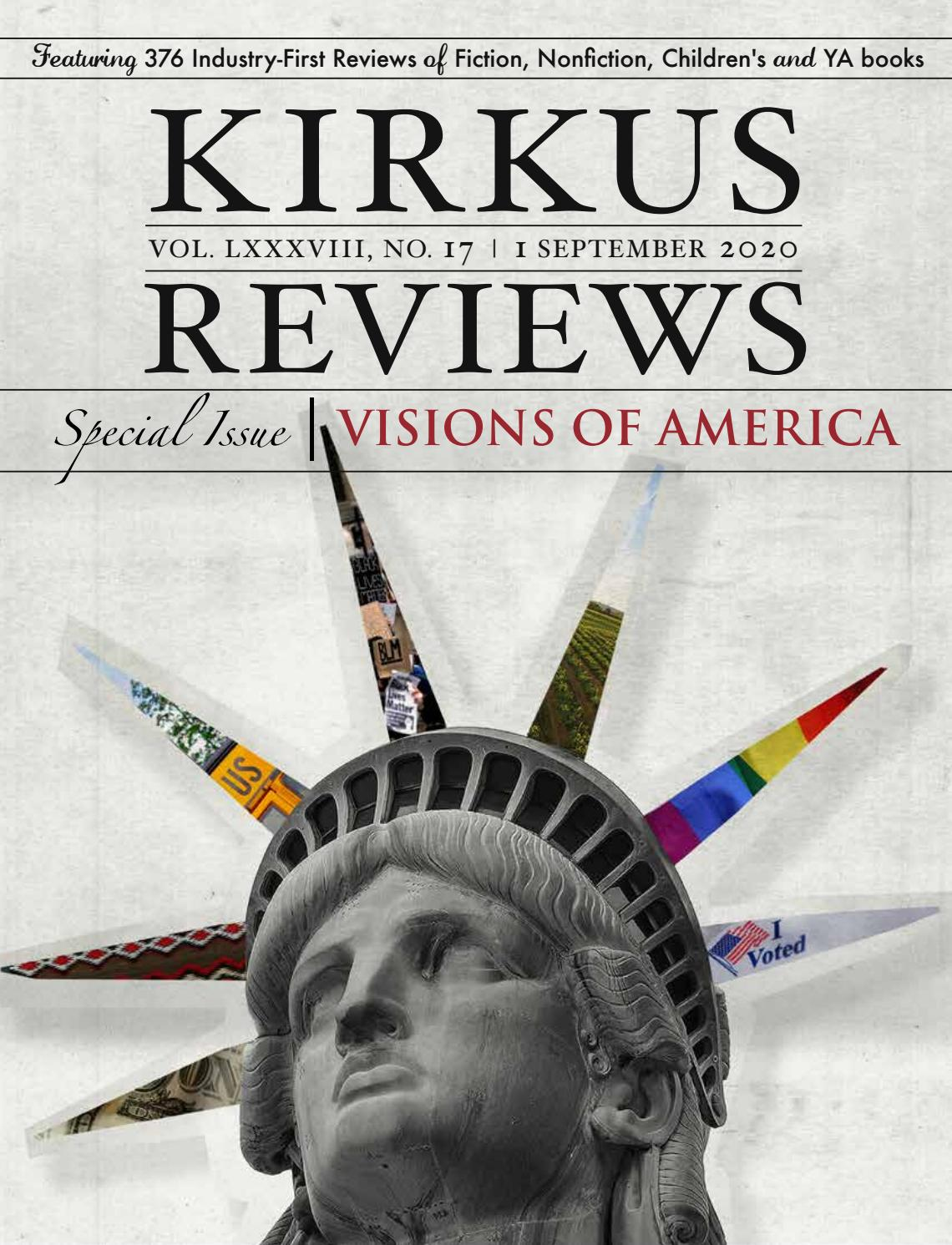 September 1 2020 Volume Lxxxviii No 17 By Kirkus Reviews Issuu