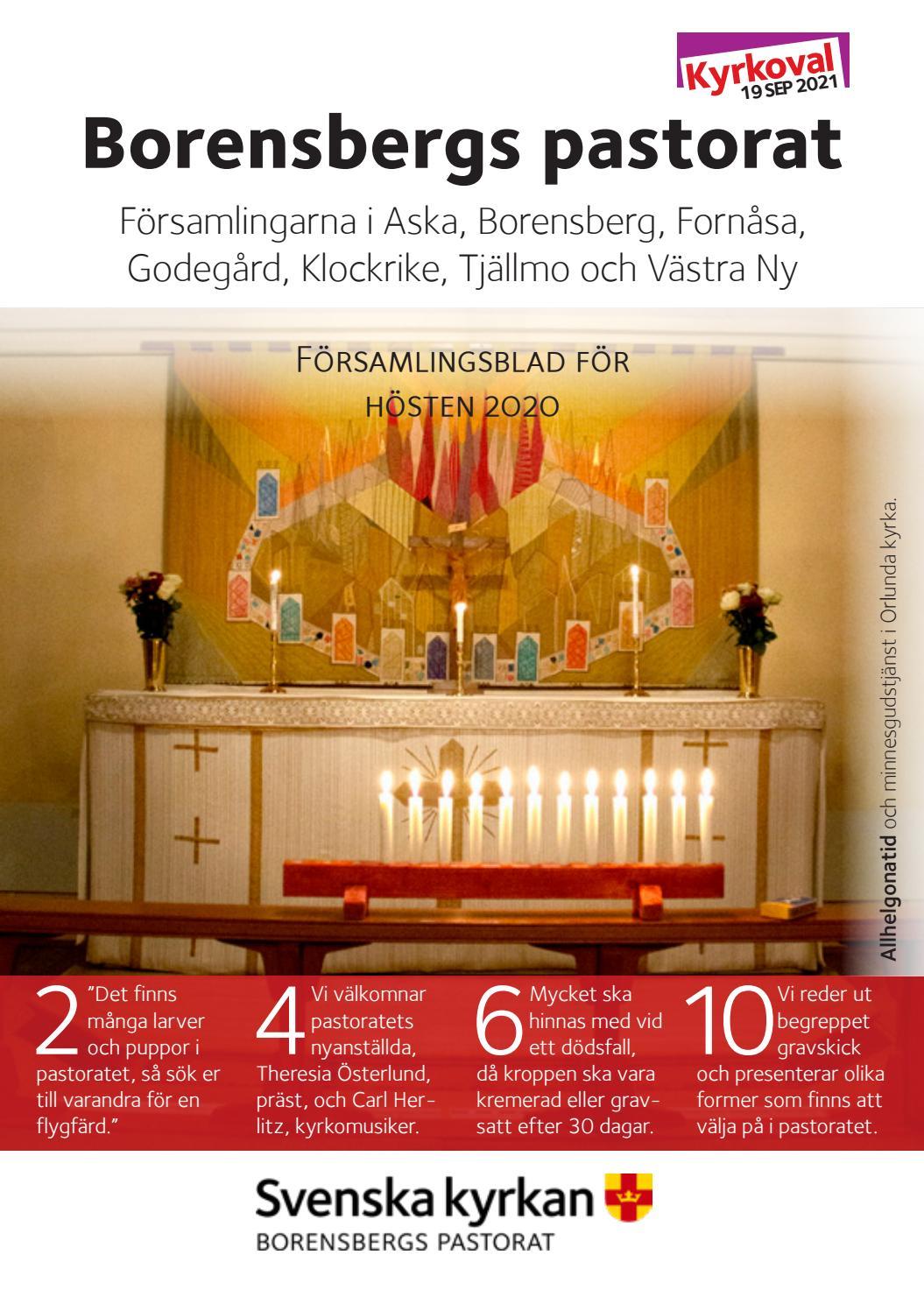 Lediga jobb i församlingar, pastorat och stift i Sverige - Svenska kyrkan