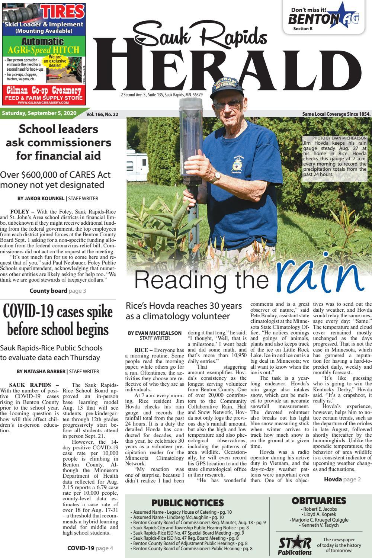 Sauk Rapids Herald September 5 By Star Publications Issuu
