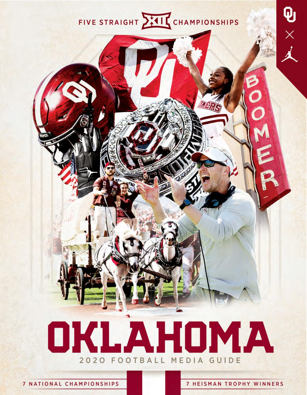 2020 Ou Football Media Guide By Ou Athletics Issuu