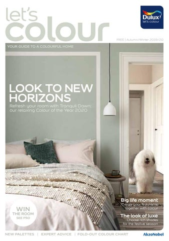 Dulux Cyprus. Let's Colour Magazine «Autumn 2019 - Winter 2020»