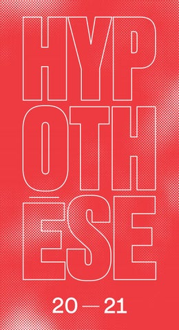 Brochure saison 2020 2021 — ICI—CCN Montpellier Occitanie