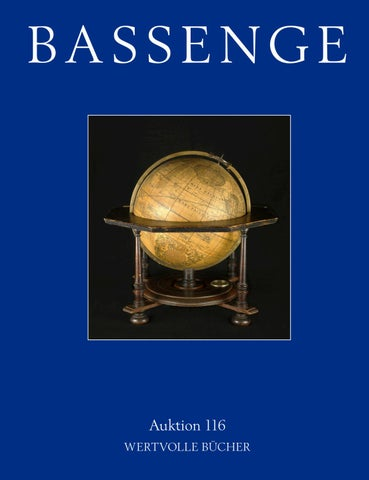 Bassenge Buchauktion 116 Wertvolle Bucher By Galerie Bassenge Issuu