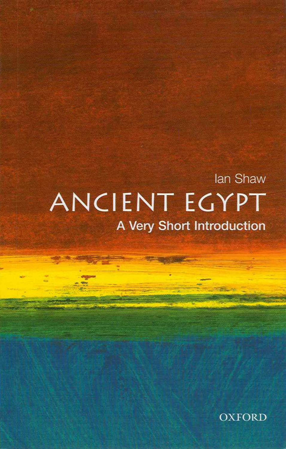 Ancient Egypt A Very Short Introduction Ian Shaw Oxford University Press By 김형률 Issuu