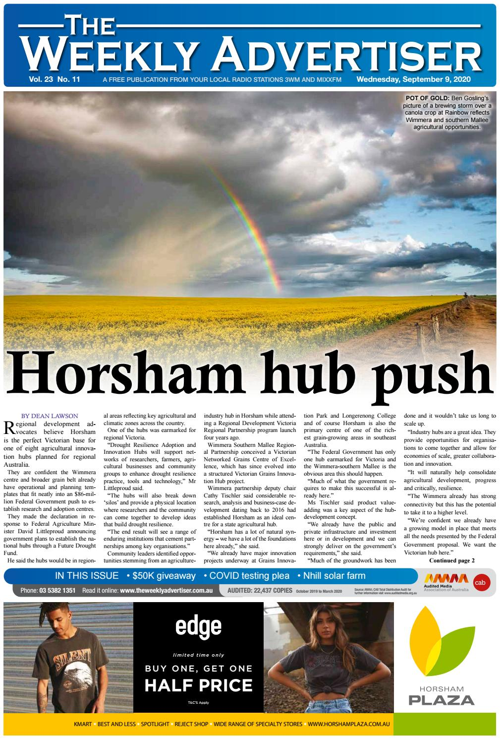 The Weekly Advertiser Wednesday September 9 2020 By The Weekly Advertiser Issuu