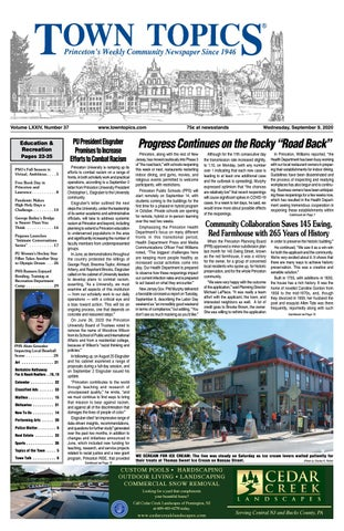 Town Topics Newspaper September 9 2020 By Witherspoon Media Group Issuu