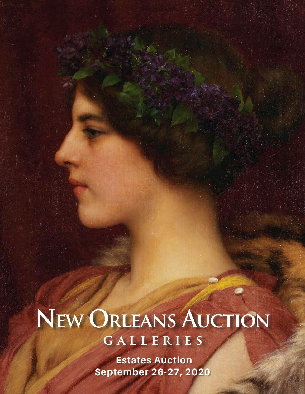 September 26 27, 2020 Estates Auction by New Orleans Auction
