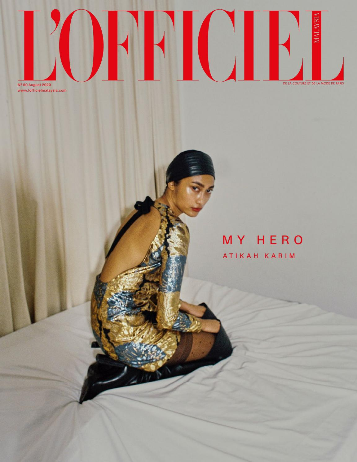 L'Officiel Malaysia N°50 August 2020 by L'Officiel Inc. - issuu