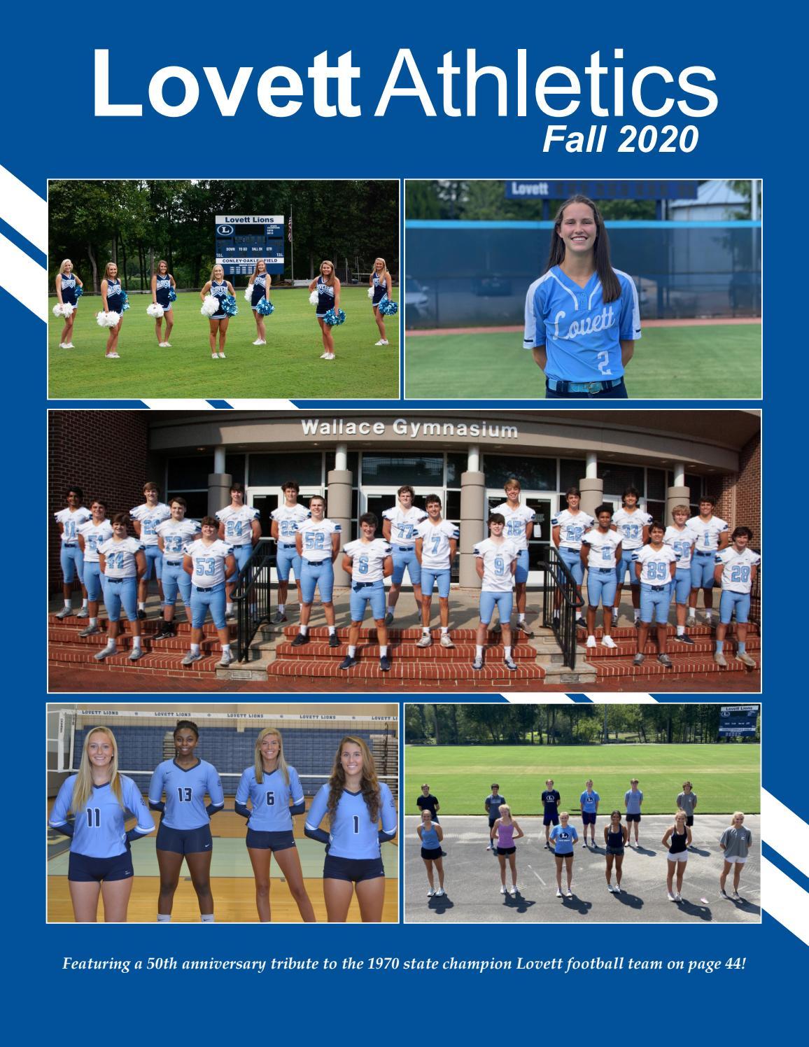 Lovett Athletics | Fall 2020