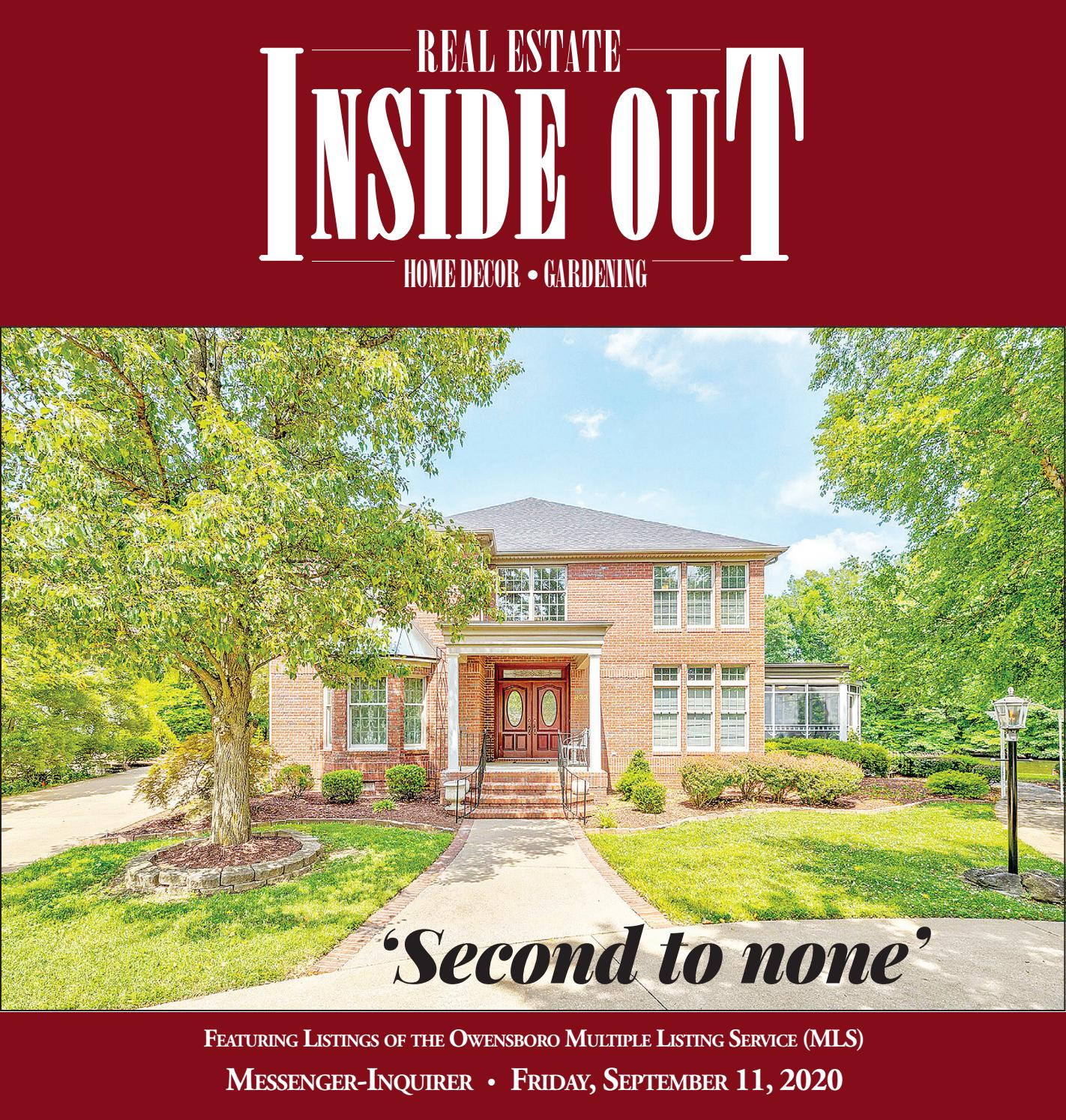 9 11 20 Real Estate Inside Out By Messenger Inquirer Issuu These properties are owned by a bank or a lender who took ownership through foreclosure proceedings. issuu