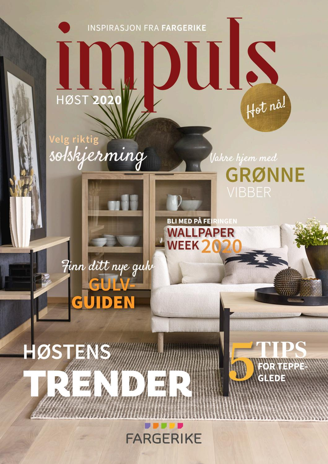 Picture of: Impuls Magasin 2020 By Fargerike Norge Issuu