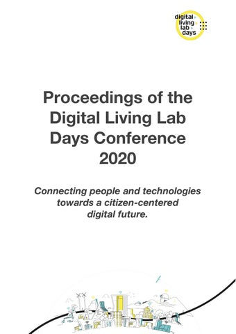Conference Proceedings 2020 By European Network Of Living Labs Issuu