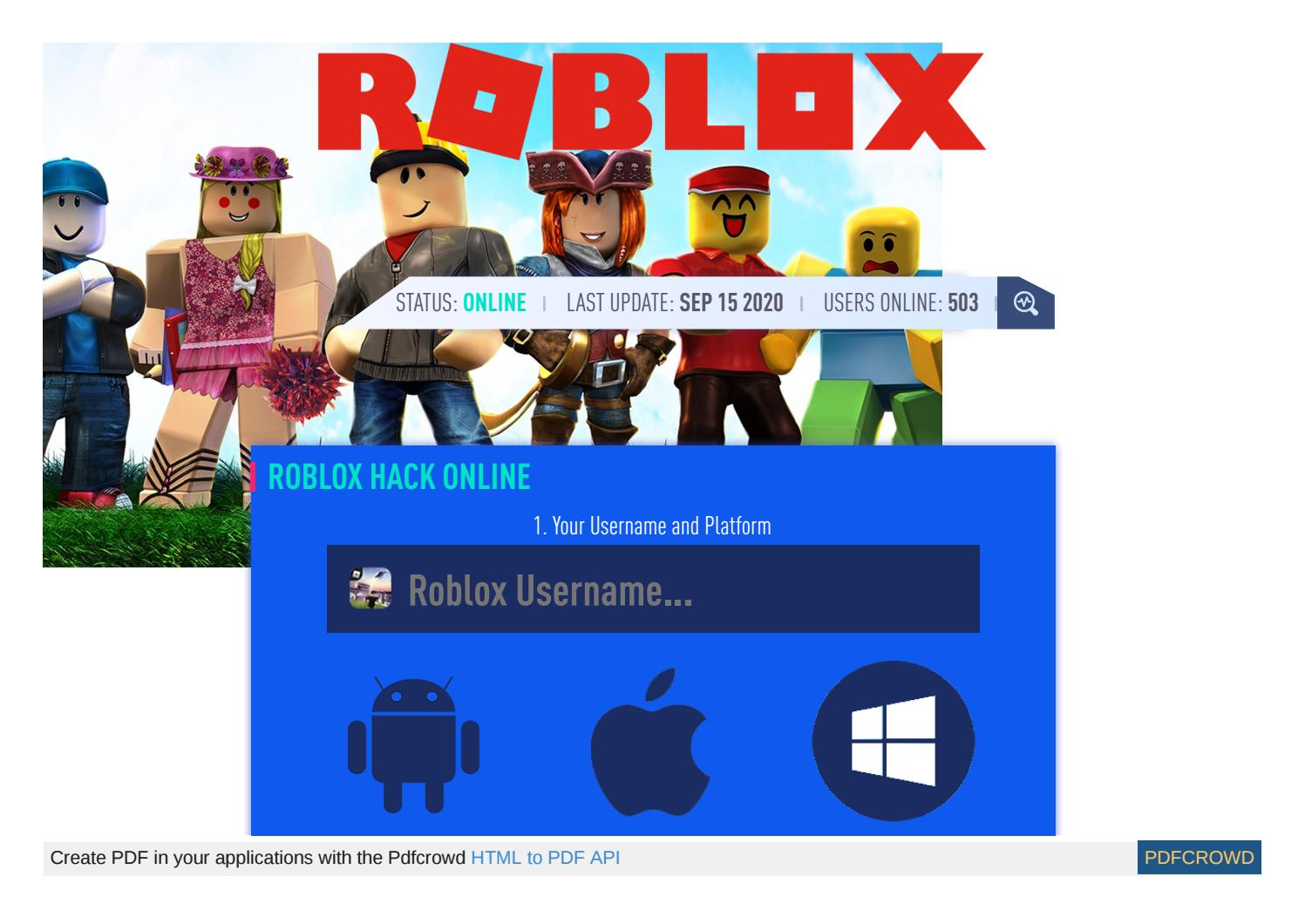 Roblox Exploits Hacks And Cheats Roblox Cheat Roblox Hack Robux Unlimited By Seth Mowles Issuu