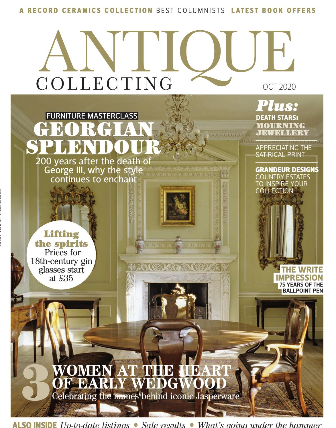 October Issue Antique Collecting Magazine By Acc Art Books Issuu