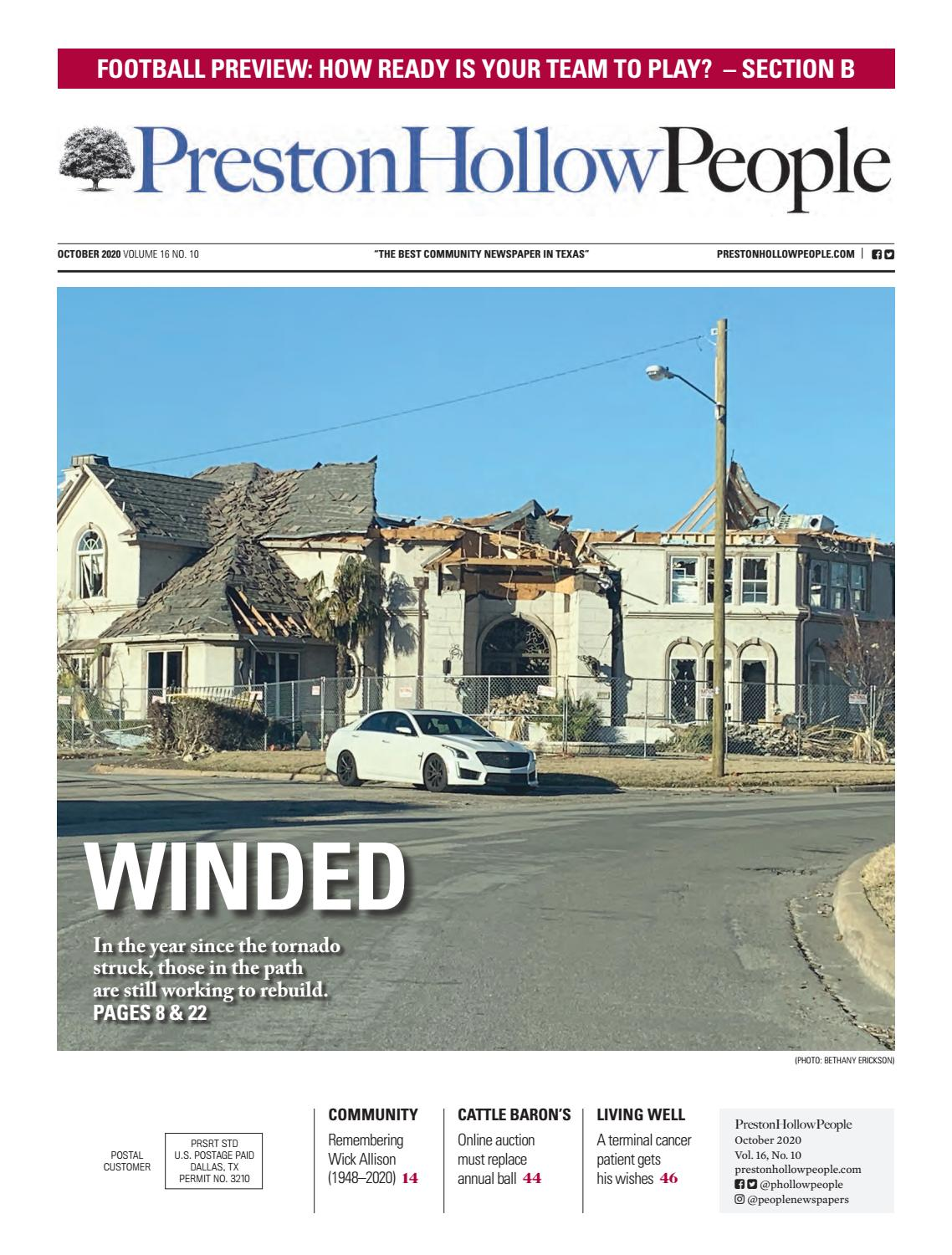 Preston Hollow People October 2020 By People Newspapers Issuu
