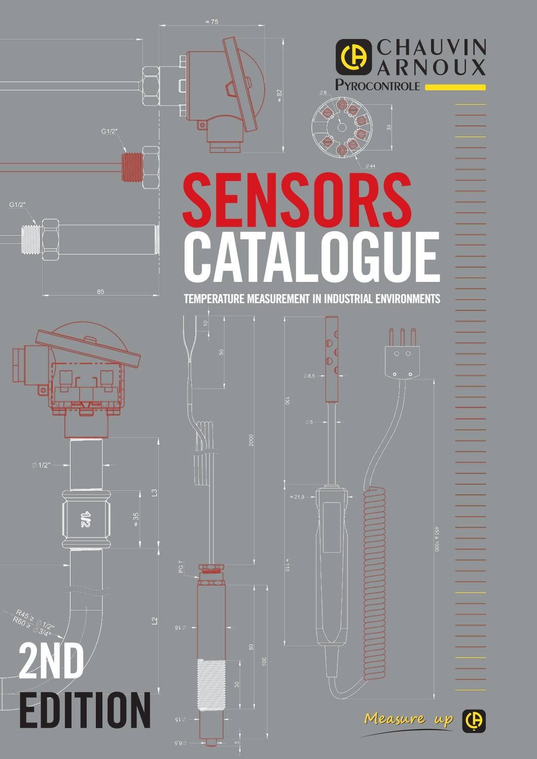 Temperature Sensors By Pyrocontrole 2nd Edition By Chauvin Arnoux Group Issuu
