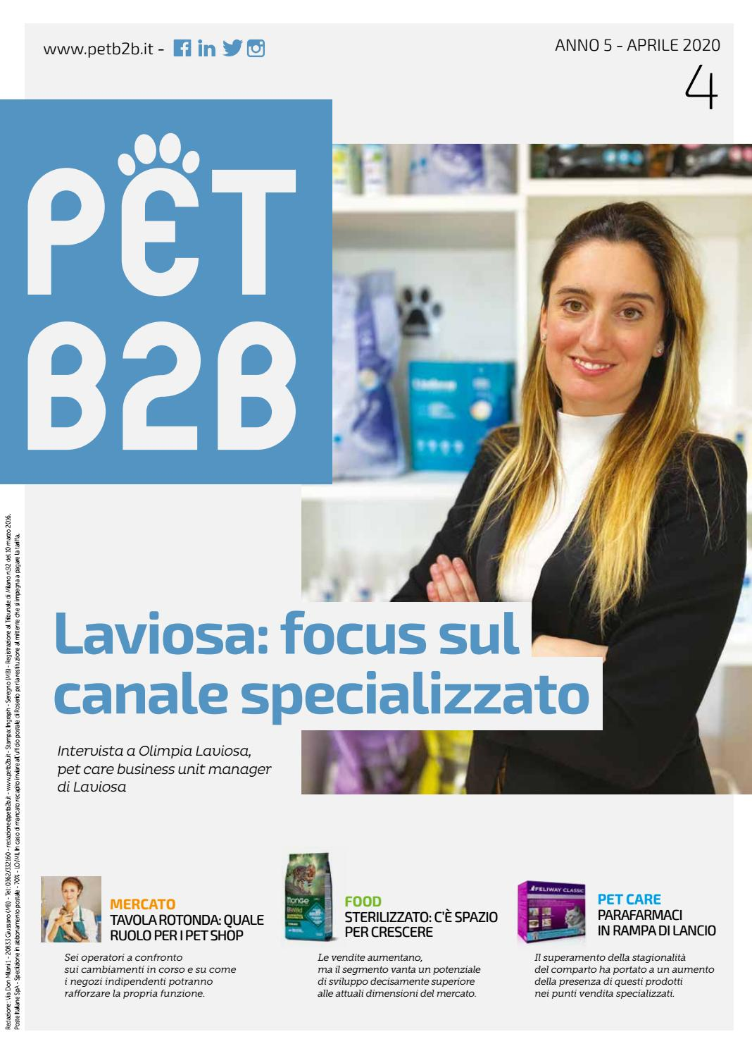 Pet B2b Aprile 2020 By By Editoriale Farlastrada Issuu