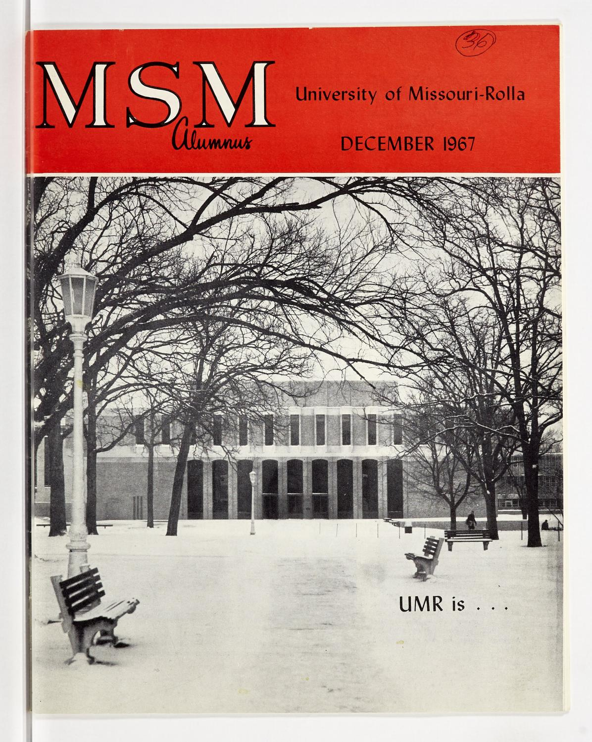 Missouri S T Magazine December 1967 By Missouri S T Library And Learning Resources Curtis Laws Wilson Library Issuu