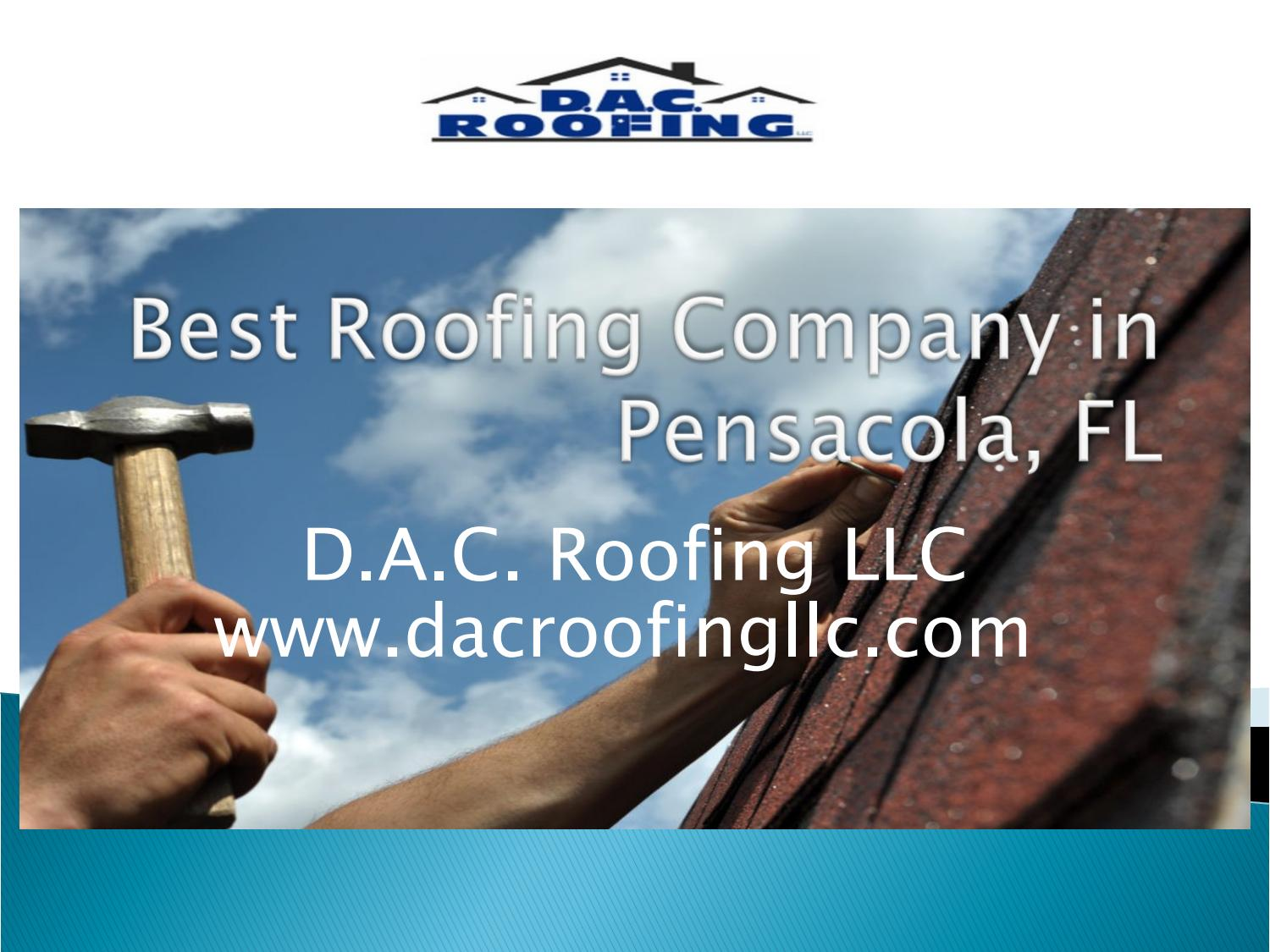 Best Roofing Company in Pensacola