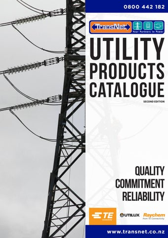 Transnet Nz Ltd Utility Products Catalogue 2018 Second Edition By Transnet Nz Ltd Issuu