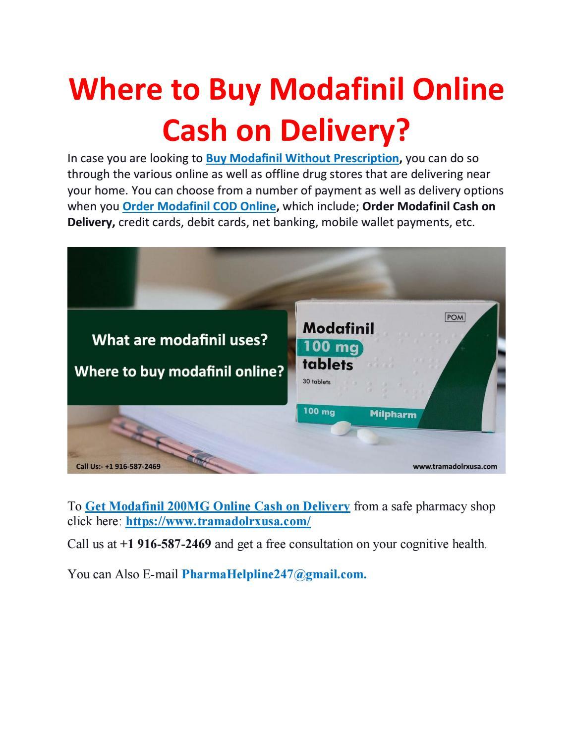 Modafinil Online Pharmacy