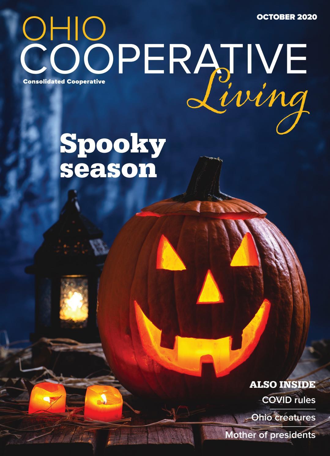 Trine University Mario Halloween 2020 Ohio Cooperative Living   October   Consolidated by Ohio