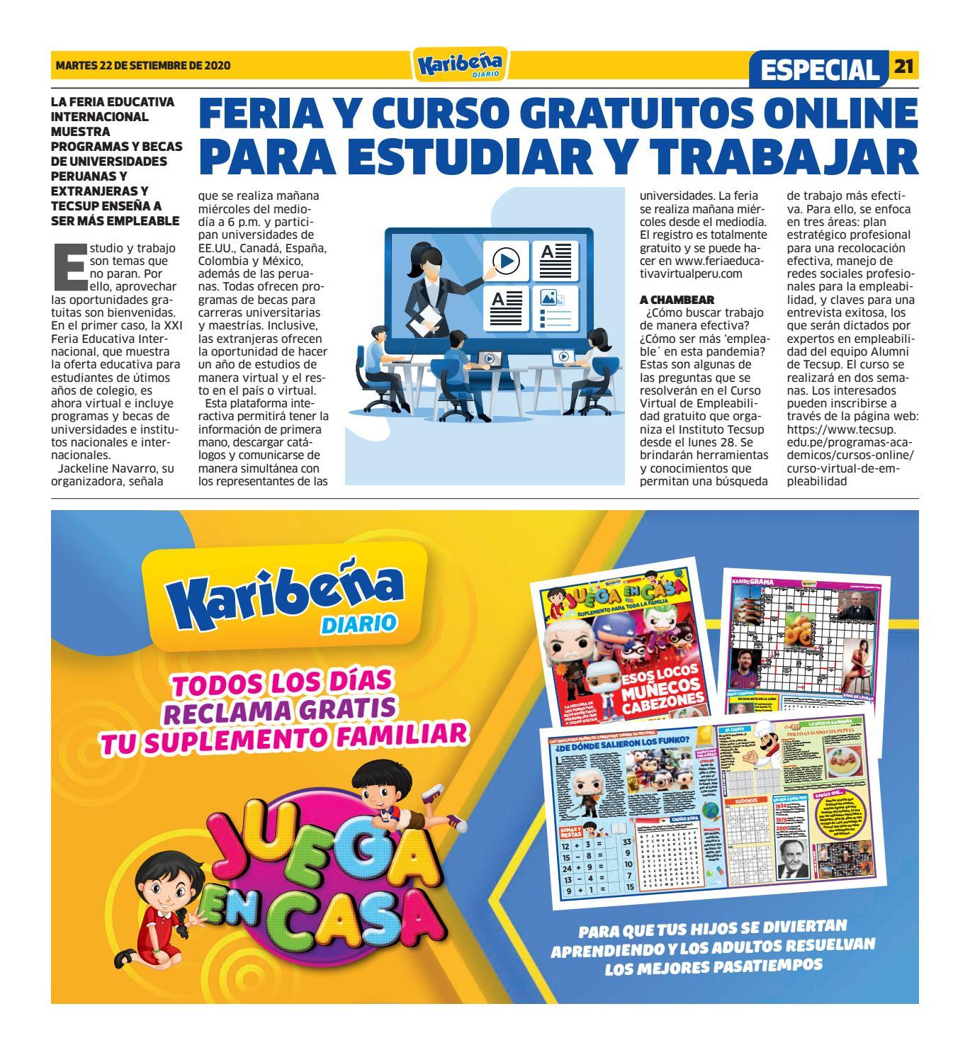 Diario Karibena Lima Martes 22 De Septiembre De 2020 By Diario Karibena Issuu