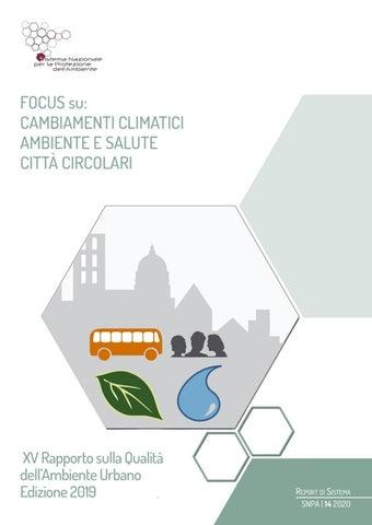 Focus Su Cambiamenti Climatici Ambiente E Salute Citta Circolari By Snpambiente Issuu