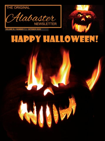 Halloween 2020 Things To Do In Alabaster Alabama The Original Alabaster Newsletter October 2020 by The Original
