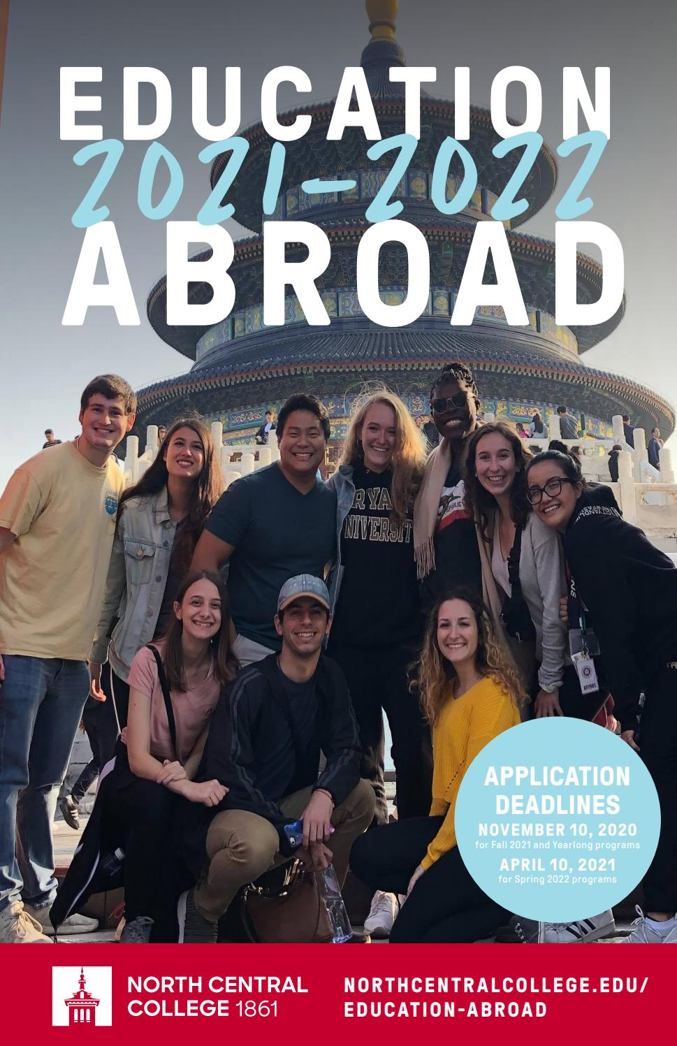Education Abroad at North Central College 2021 22 by North Central