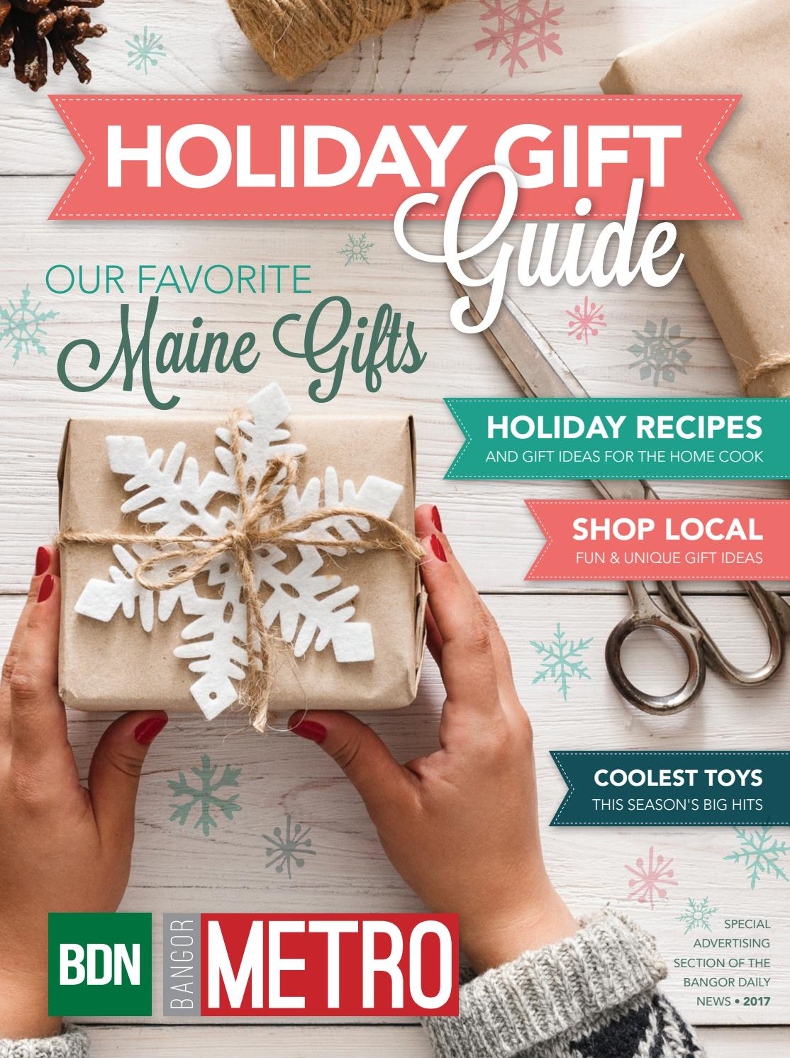 Holiday Gift Guide 2017 By Bangor Daily News Issuu