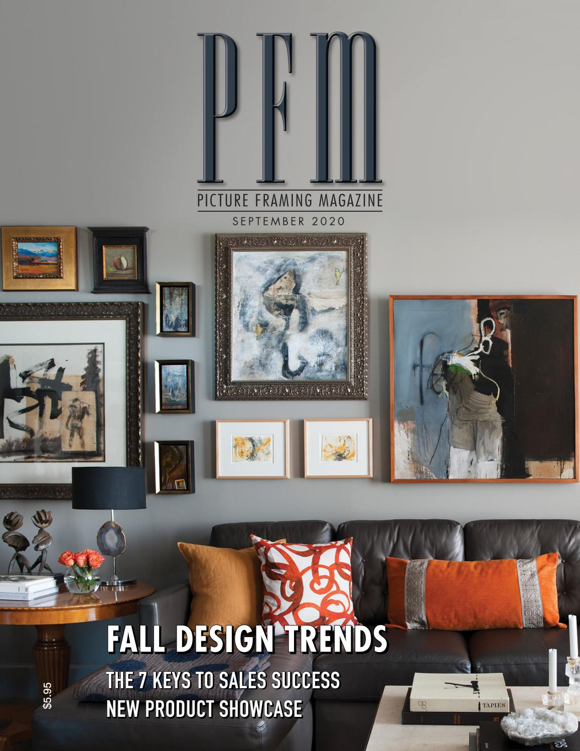Picture Framing Magazine September 2020 By Pfm Publishing Issuu