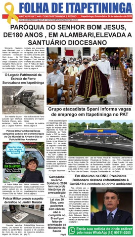 Folha de Itapetininga 24/09/2020 (Quinta-feira)