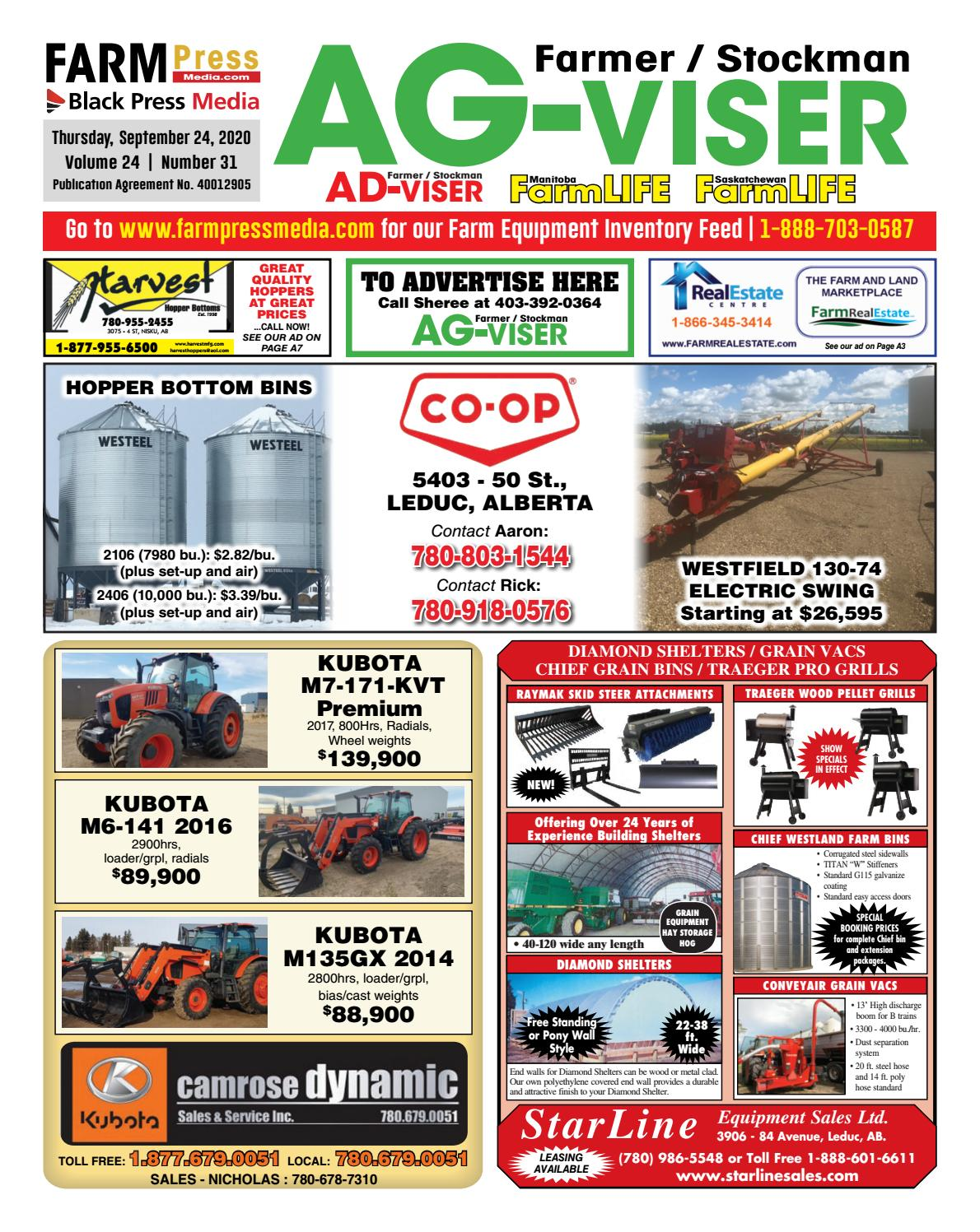 Northern Alberta Agvisor September 24 2020 By Black Press Media Group Issuu