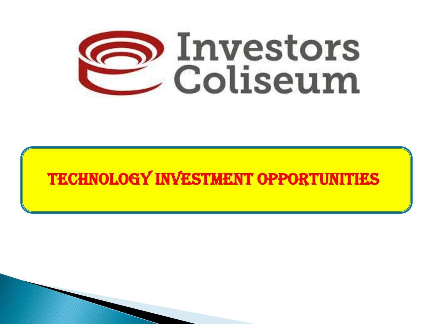Technology Investment Opportunities