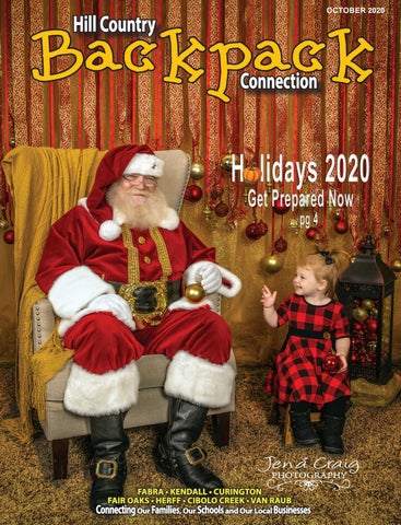 When Is Christmas Day Vacation Bisd 2020 Hill Country Backpack Connection October 2020 by Digital Publisher