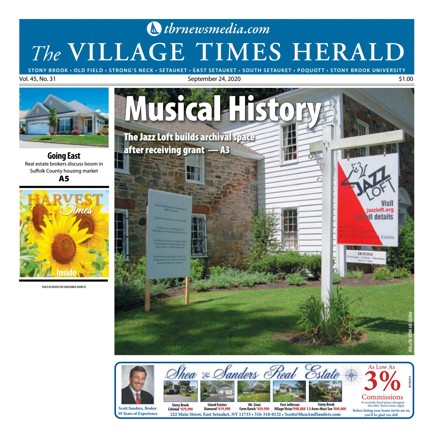 The Village Times Herald - September 24, 2020 by TBR News Media - issuu