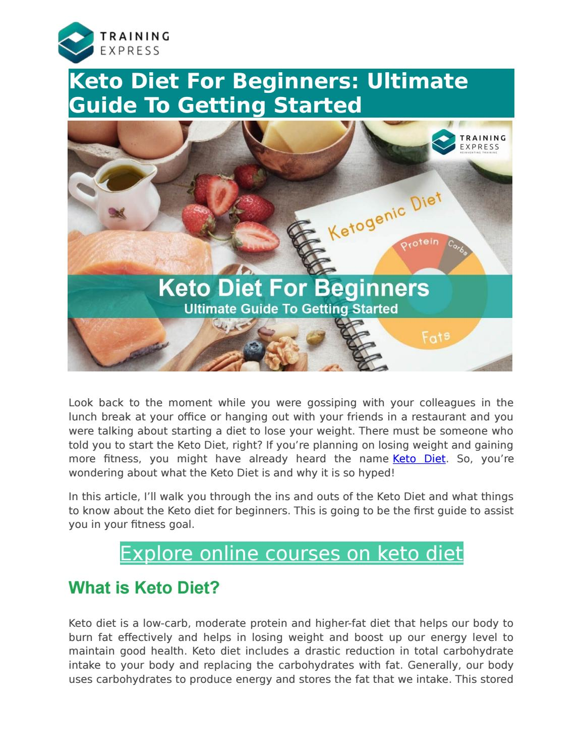 does ketogenic diet break down your stored fat