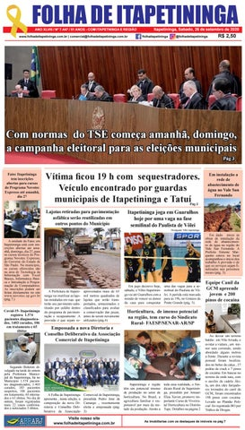 Folha de Itapetininga 26/09/2020 (Sabado)