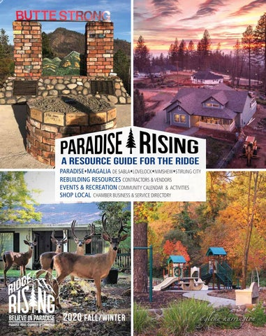 Paradise Rising: A Resource Guide for the Ridge Fall Winter 2020