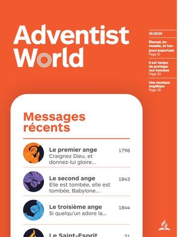Adventist World French October 2020 By Adventist World Magazine Issuu